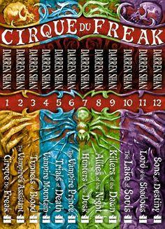 Cirque du Freak The Saga of Darren Shan collection by Darren Shan